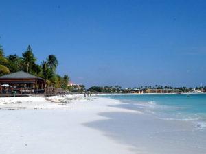 biała plaża