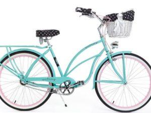 rower z koszykiem