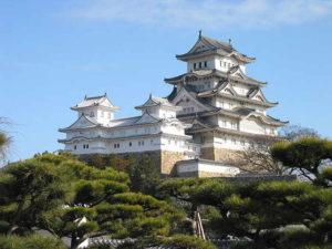 zamek japoński