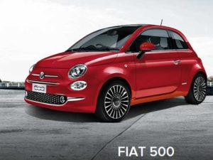 małe auto osobowe Fiata