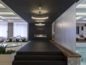 wnętrze hotelu SPA