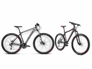 dwa rowery turystczne