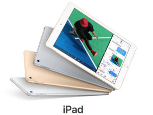 tablet w różnych kolorach