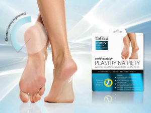 stopy i opakowanie plastrów