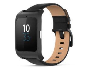 czarny zegarek