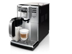 ekspres i kawa z pianką
