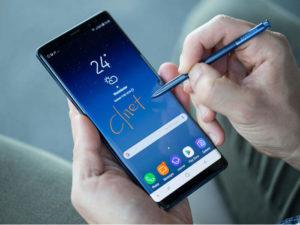 smartfon z rysikiem