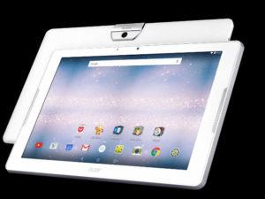 biały tablet