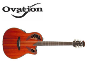 gitara i logo firmy