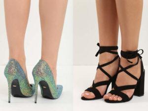 sandały i szpilki