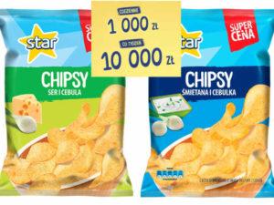 dwie paczki chipsów